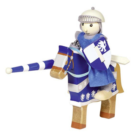 Goki Flexible puppet knight Lancelod - Adams Attic