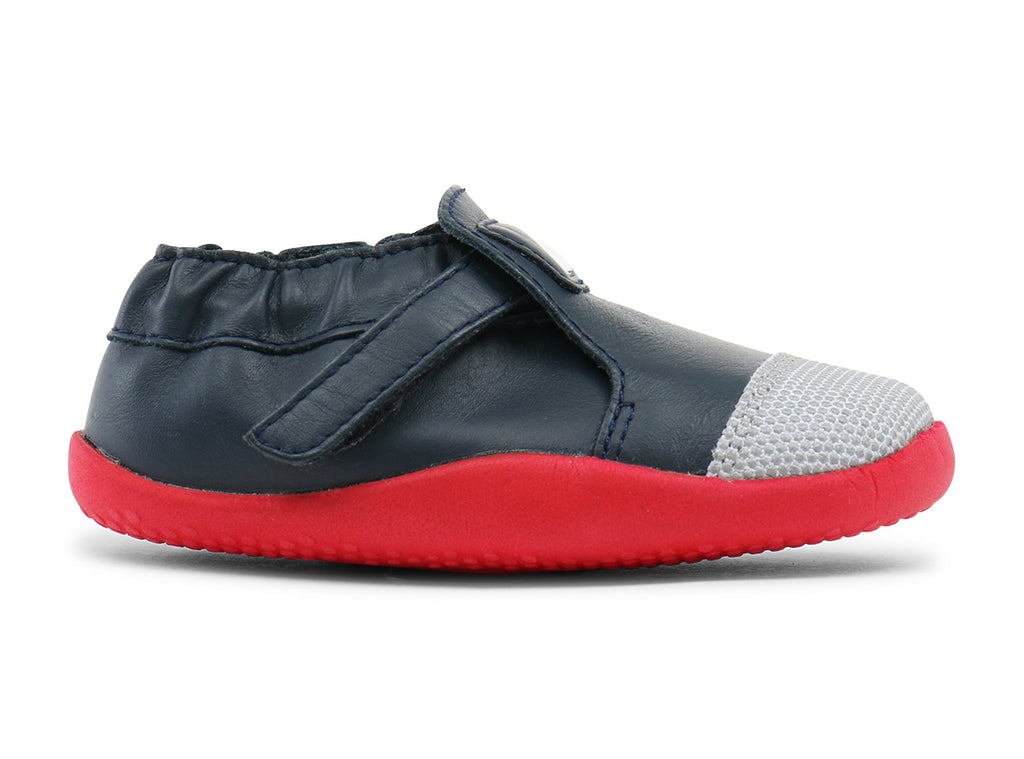 Bobux Xplorer Origin Navy/Red - Adams Attic