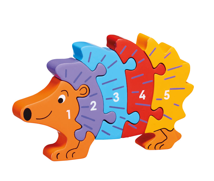 Lanka Kade Hedgehog Puzzle 1-5 - Adams Attic
