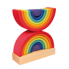 Grimm's Rainbow Stacking Tower - Adams Attic