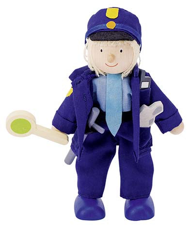 Goki Flexible Puppet Policeman - Adams Attic