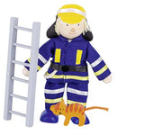 Goki Flexible Puppet Fireman 1 - Adams Attic