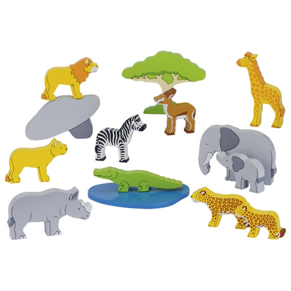 Goki African Animals - Adams Attic