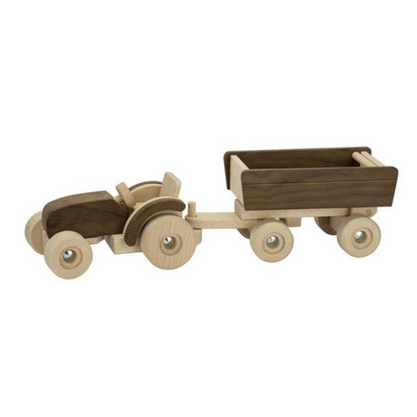 Goki Nature Tractor with Trailer - Adams Attic