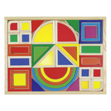 Goki Rainbow Building Blocks with Windows - Adams Attic