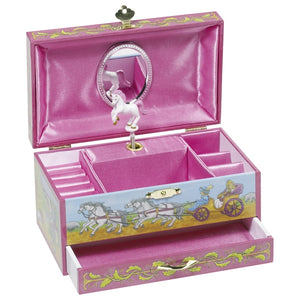 Goki Music Box Horse with Drawer - Adams Attic