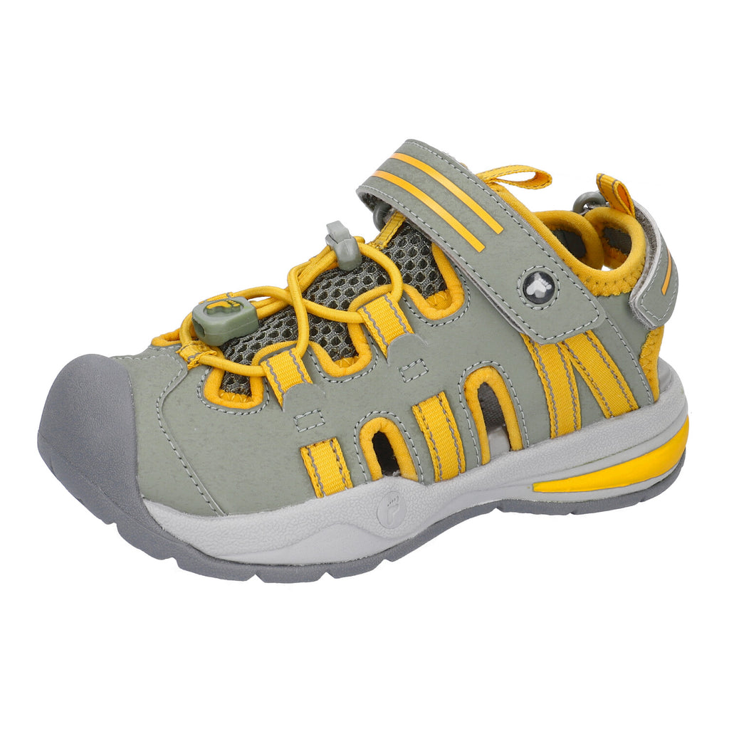 Ricosta Coast Grey & Yellow - Adams Attic
