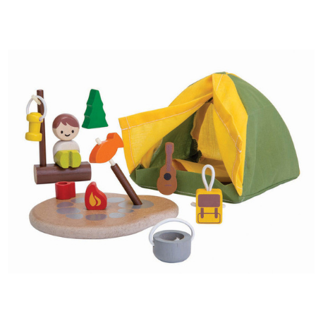 Plan Toys Camping Set - Adams Attic