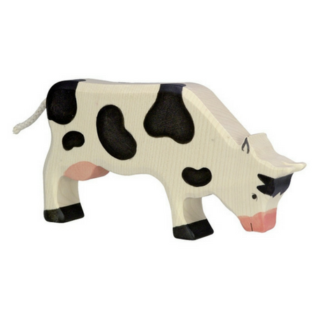 Holztiger Cow Grazing Black - Adams Attic