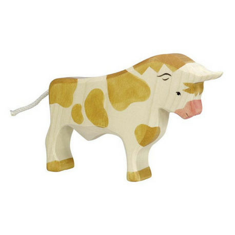 Holztiger Bull, Brown - Adams Attic