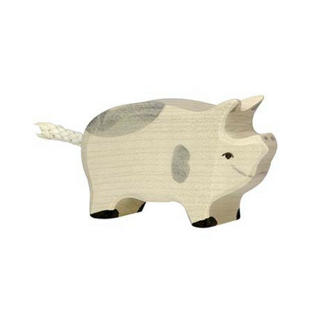 Holztiger Piglet Dappled - Adams Attic