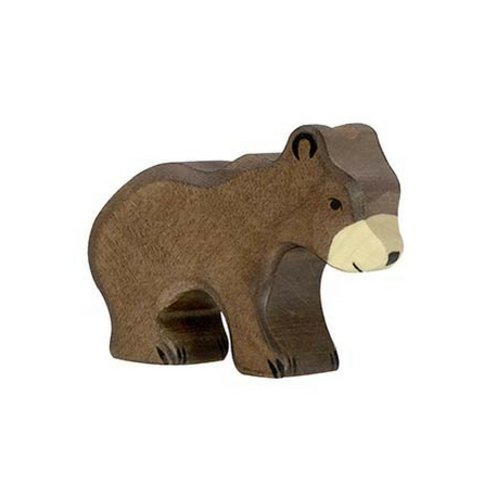 Holztiger Brown Bear Small - Adams Attic