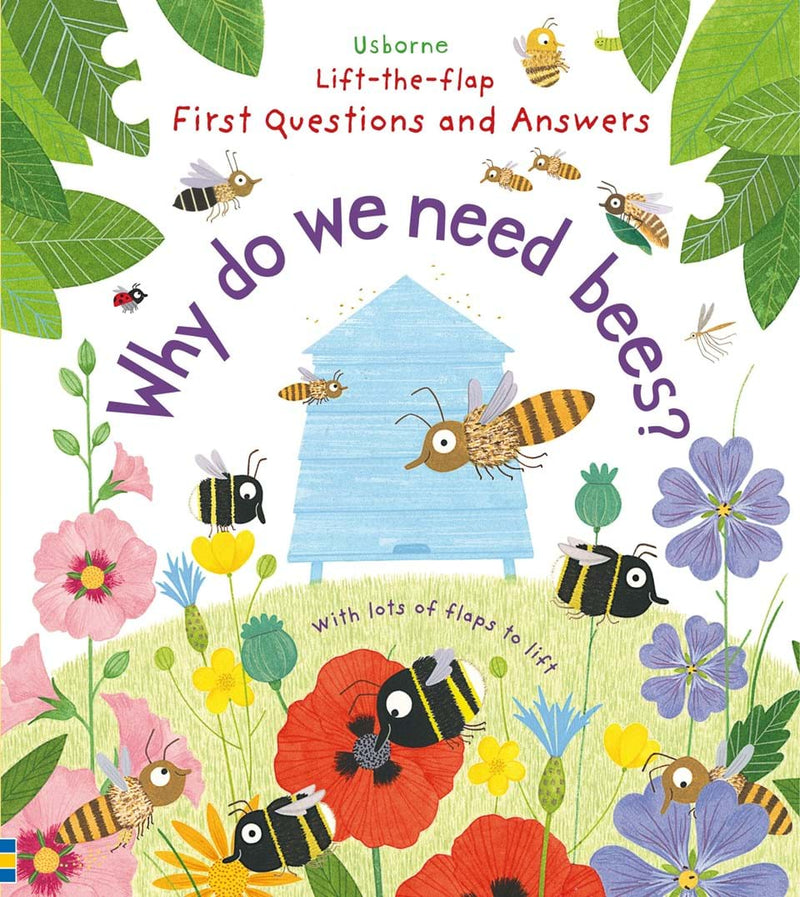 Usborne Lift the Flap Why do we need Bees - Adams Attic