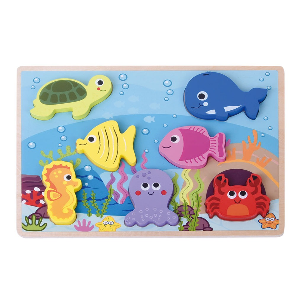 Jumini Chunky Sealife puzzle - Adams Attic