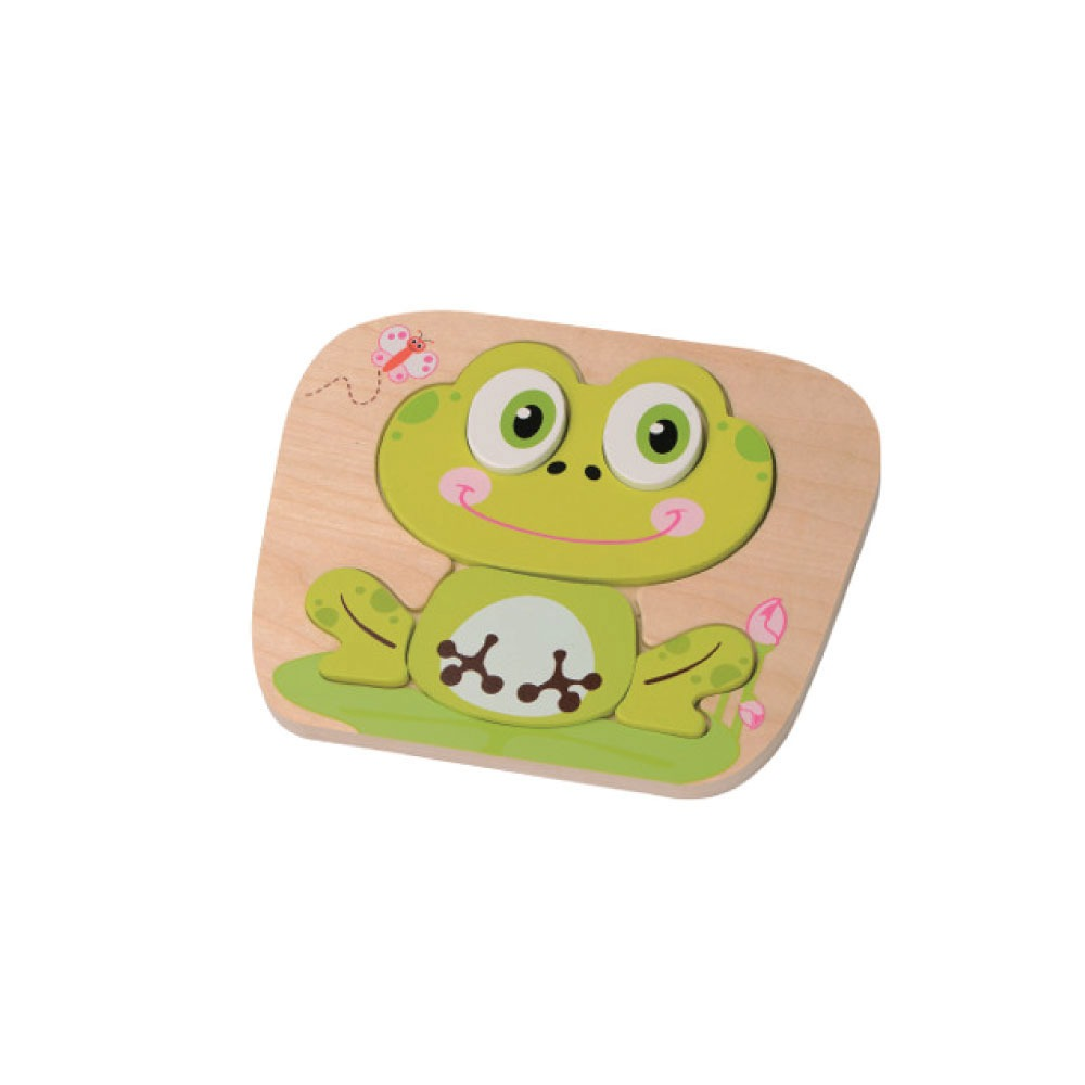 Jumini Frog Raised Puzzle - Adams Attic