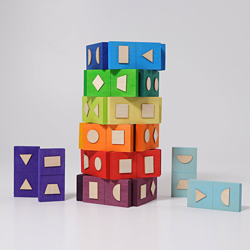 Grimm's Domino Geometrical Shapes - Adams Attic