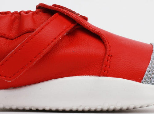 Bobux Xplorer Origin Red/White - Adams Attic