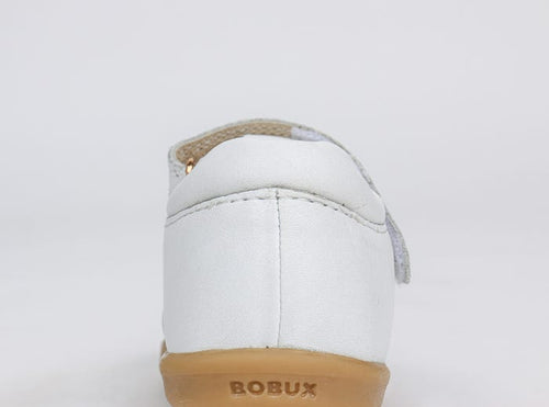 Bobux IWalk Jump Closed Sandal White - Adams Attic