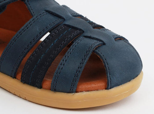 Bobux IWalk Roam Closed Sandal Navy - Adams Attic