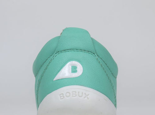 Bobux Step Up Grass Court Trainer Peppermint - Adams Attic