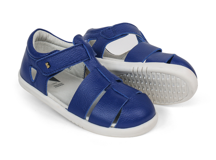 Bobux IWalk Tidal Closed Sandal Blueberry - Adams Attic