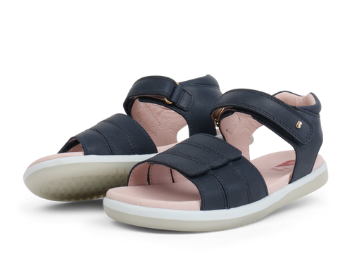 Bobux Kids+ Hampton Open Sandal Navy - Adams Attic