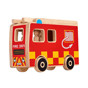 Lanka Kade Fire engine playset - Adams Attic