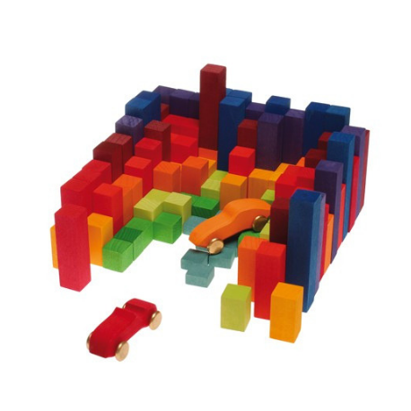 Grimm's Small Stepped Counting Blocks - Adams Attic
