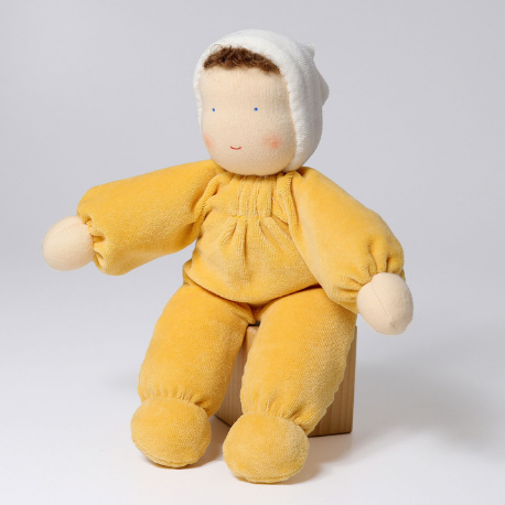 Grimm's Yellow Soft Doll - Adams Attic