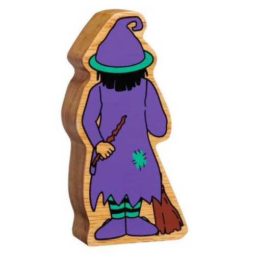 Lanka Kade Natural Purple and Green Witch - Adams Attic