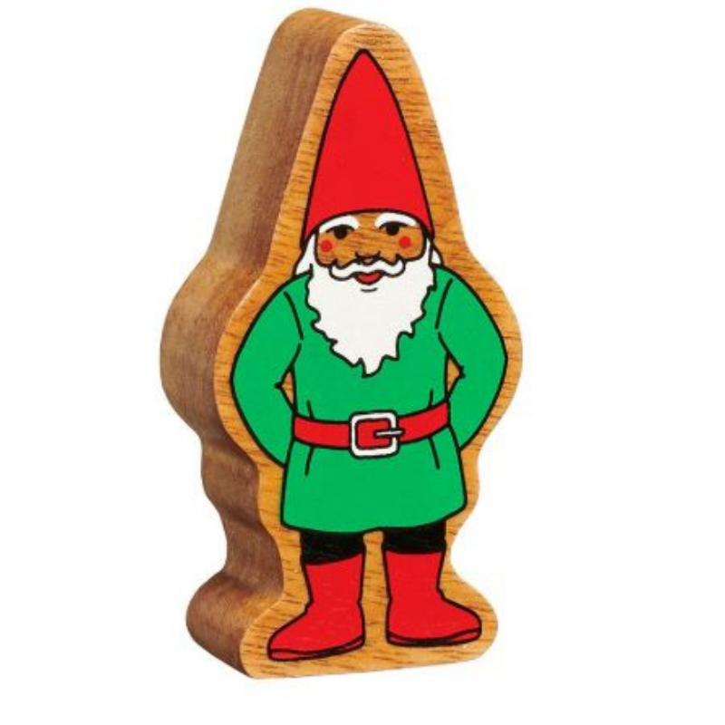 Lanka Kade Natural Green and Red Gnome - Adams Attic