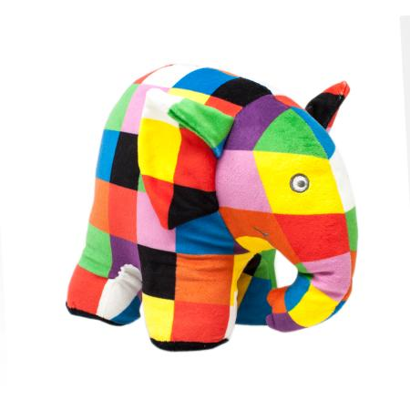 Elmer Large Soft Toy - Adams Attic