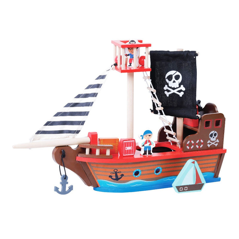 Jumini Pirate Ship - Adams Attic