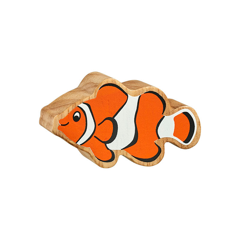 Lanka Kade Natural Orange & White Clownfish - Adams Attic