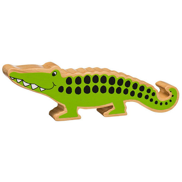 Lanka Kade Natural Green Crocodile - Adams Attic