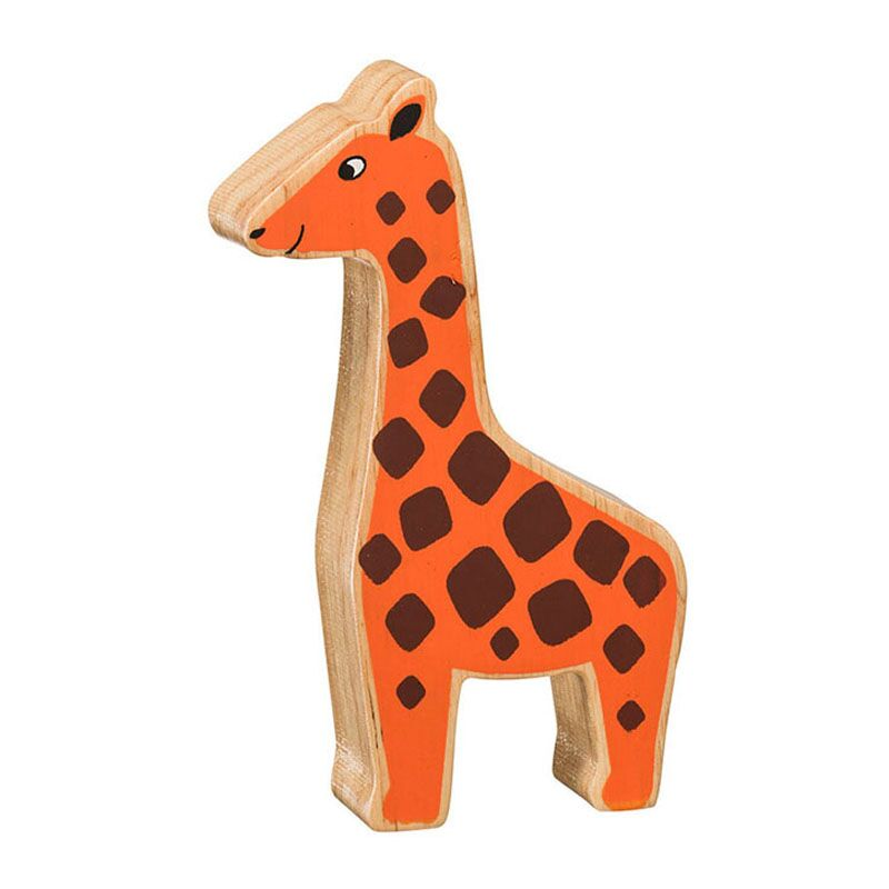 Lanka Kade Natural Orange Giraffe - Adams Attic