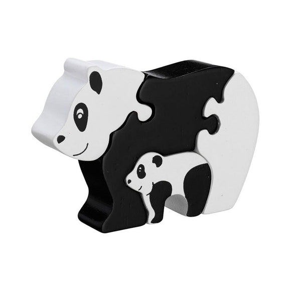 Lanka Kade Panda and Baby Puzzle *Old Style* - Adams Attic