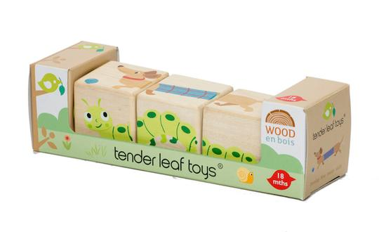 Tender Leaf Toys Garden Twisting Cubes - Adams Attic