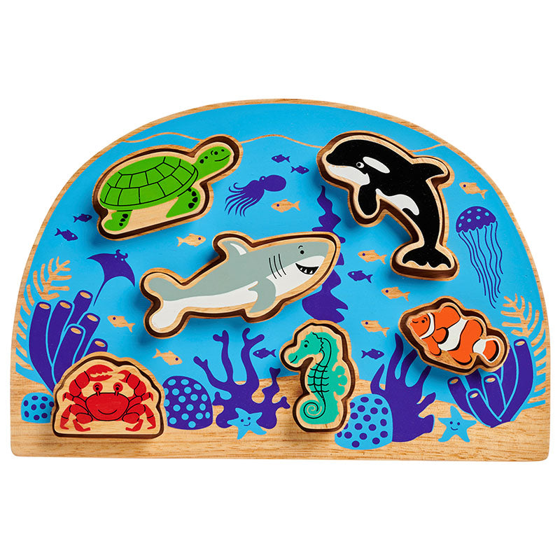 Lanka Kade Sealife Shape Sorter - Adams Attic
