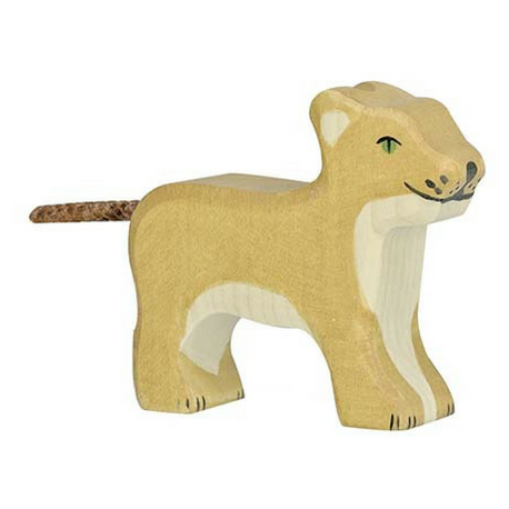 Holztiger Lion Small Standing - Adams Attic