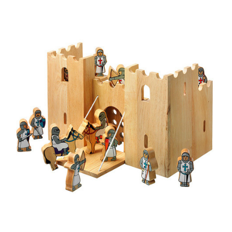 Lanka Kade Castle Playscene with 12 Knights - Adams Attic
