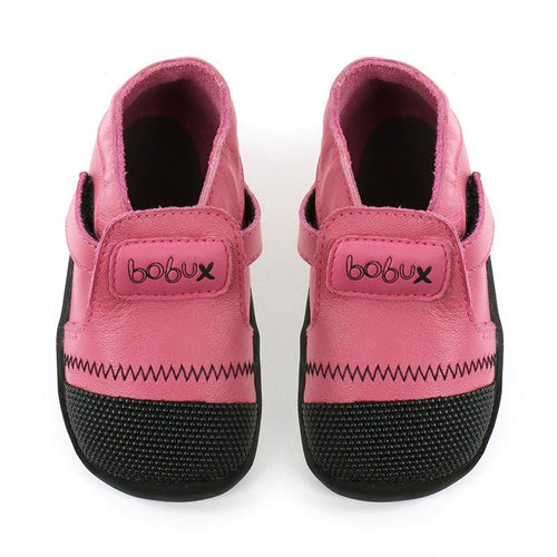 Bobux Xplorer Origin Pink and Black - Adams Attic