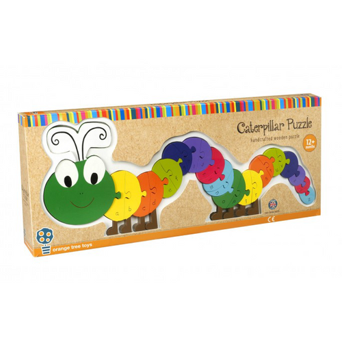Orange Tree Toys Caterpillar Alphabet puzzle - Adams Attic