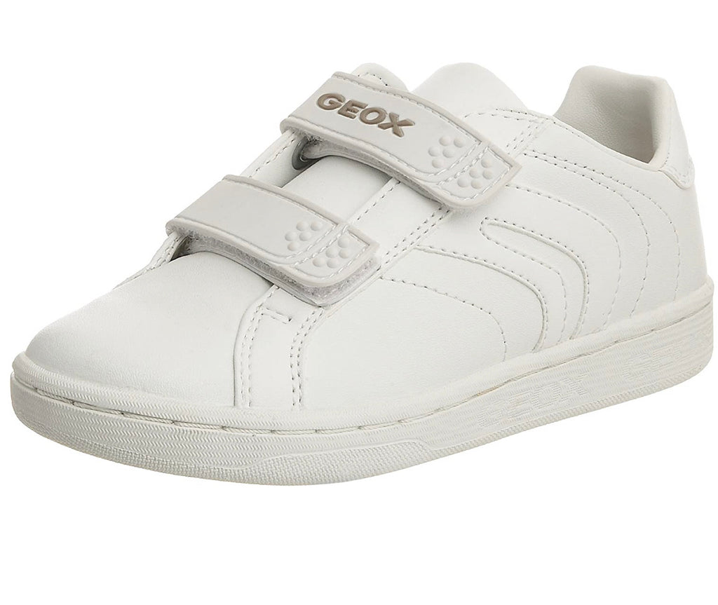 Geox Mania White smooth leather - Adams Attic