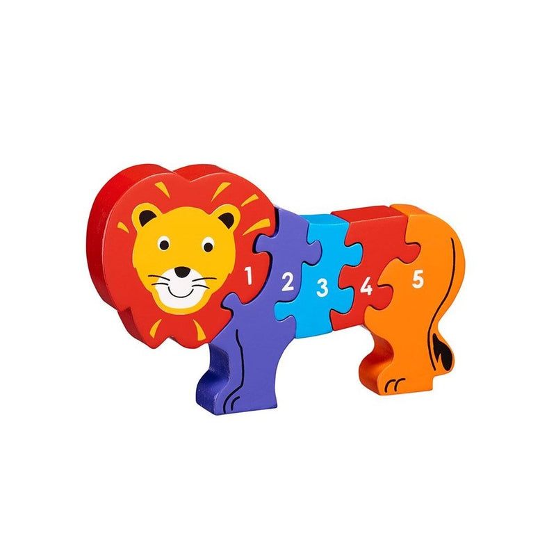 Lanka Kade Lion 1-5 Puzzle - Adams Attic