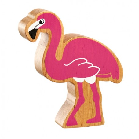 Lanka Kade Natural Pink Flamingo - Adams Attic