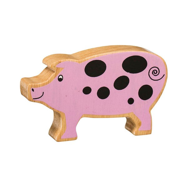 Lanka Kade Natural Pink Spotted Pig - Adams Attic