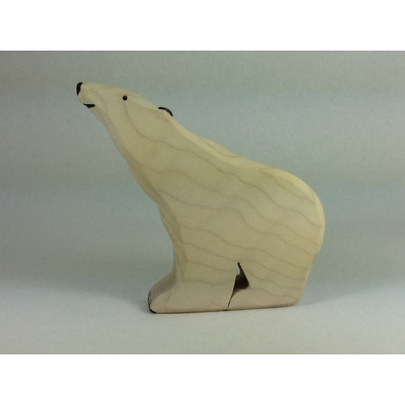 Brin d'Bois Sitting Polar Bear - Adams Attic