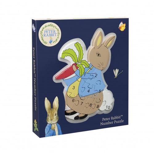 Orange Tree Toys Number Puzzle Peter Rabbit - Adams Attic