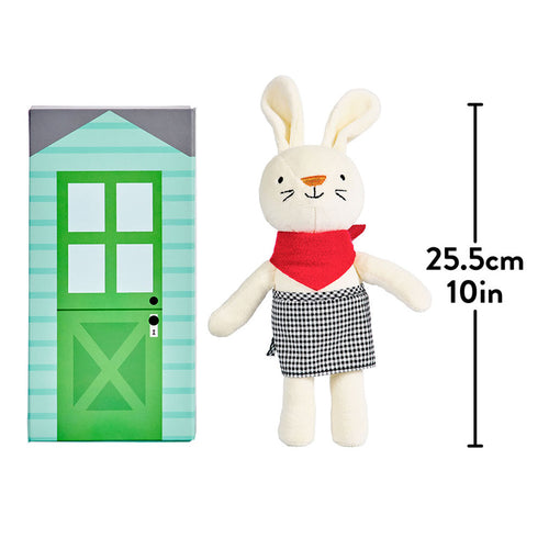 Petit Collage Rubie the Rabbit Playset - Adams Attic